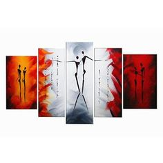 FLY SPRAY 100 HandPainted Oil Paintings Panels Stretched Framed Ready Hang Dancer Lover Couple Modern Abstract Canvas Living Room Bedroom Office Wall Art Home Decoration Office Wall Art, Office Walls, Bedroom Office, Abstract Canvas, Oil Painting On Canvas, Oil Paintings, Living Room Bedroom, Bedroom Decor, Fly Spray