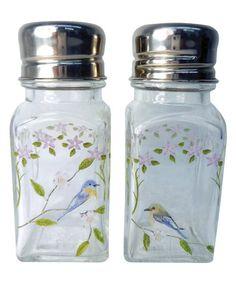 Look what I found on #zulily! Songbirds Salt & Pepper Shakers #zulilyfinds
