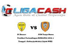 Ligacash-Prediksi Pertandingan FC Brasov vs FCM Targu Mures