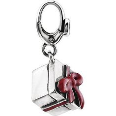 Sterling Silver #Present #Charm and Pendant. Who doesn't love a present?
