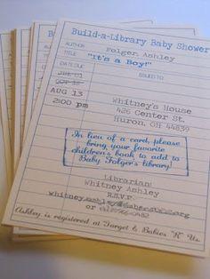 book party invitation - Google Search