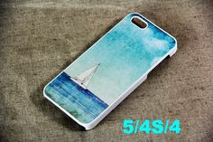 Sailboat on sea iPhone 5 Case,Plastic Case and Rubber Case $12
