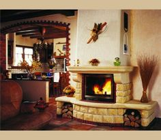 www.gulyaskandallo.hu Trumeau, Foyer, Home Decor, Google, Drive Way, Entryway, Fireplace Wall, Rustic Mantel, Fireplace Design
