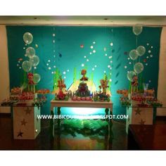 Festa Infantil Princesas do mar!