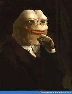 This is a rare pepe