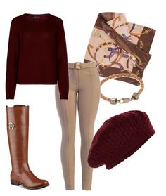 """""""Fall Equestrian Look"""" by tylir-penton on Polyvore featuring Tommy Hilfiger, Marina D'Este, Perepaix, 360cashmere and Accessorize"""
