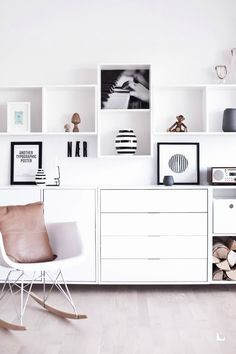 A lot of amazing stuff from Ikea, even more amazing with a twist.*A real Nordic look with the Ikea Karlstad couch in sand color, nice!**A lovely chilling space with the Ikea Karlstad,
