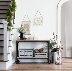 Hearth & Hand Simple Consul Table My favorites from Target's Hearth & Hand with Magnolia collection | holiday decor | home decor | target style | affordable decor | affordable interior design | home style | fixer upper | shelfie | living room | home inspo | kitchen inspo | open shelving