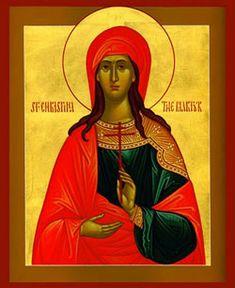 At Bolsena in Tuscany, Saint Christina, Virgin and Martyr - Feast day: July 24