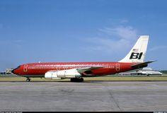 Braniff International Airways Boeing 707-138B - Love Field Airport - Dallas, Texas - July 1970   Viewliner Ltd.: Aviation