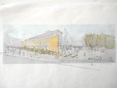 Alcalde Morera civic center, Terrassa. Q d'ARQUITECTURA. Miquel Turne / Jordi Grane Telf: +34 654.065.999 www.qdarquitectura.com