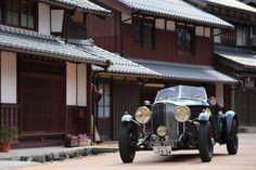 https://flic.kr/p/Gtgxyb | BENTLEY DERBY | --- BENTLEY DERBY --- La Festa Primavera 2016. The classic cars run around the Kansai area, Japan for 4 days.  Located : Kumagawa town, Fukui pref.