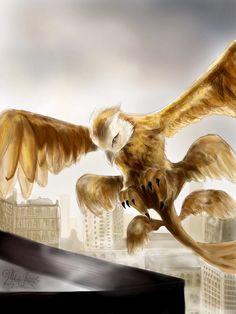 Thunderbird drawing - Animales fantásticos y dónde encontrarlos
