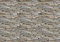 293 - Stone Wall, grey - For Wall
