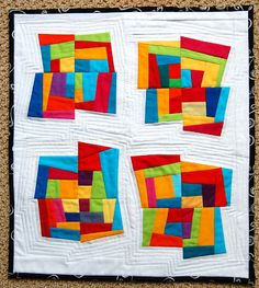 quilt.cook.keep. Beautiful with bold colors and amazing quilting.