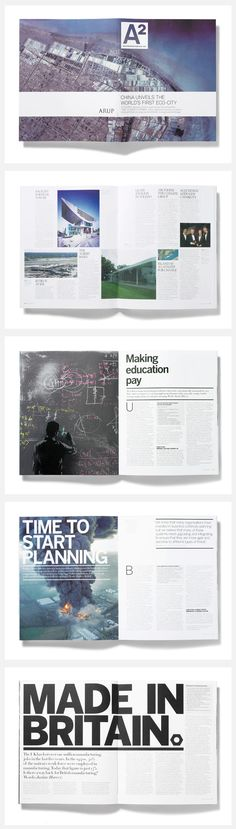 A2 Magazine: Launch issue  I pinned this article because of the simplicity of the layout, i think it has a clean finish and well thought out composition, i also think the colours of the imagery flow so when you turn over the page you know your still reading the same article.