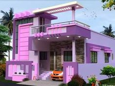 House Front Wall Design, House Balcony Design, House Outer Design, 3 Storey House Design, Single Floor House Design, House Outside Design, Duplex House Design, Small House Design, Front Elevation Designs