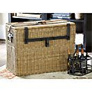 Travelers Wicker Chest - Large