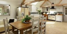 kitchen with aga and freestanding units - Google Search