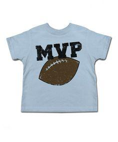 Look at this #zulilyfind! Light Blue 'MVP' Tee - Toddler & Kids #zulilyfinds