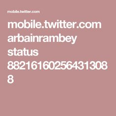 mobile.twitter.com arbainrambey status 882161602564313088