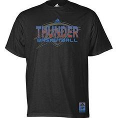 Oklahoma City Thunder Vibe Stealth T-Shirt (Black)