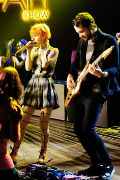 Hayley Williams and Taylor York #paramore