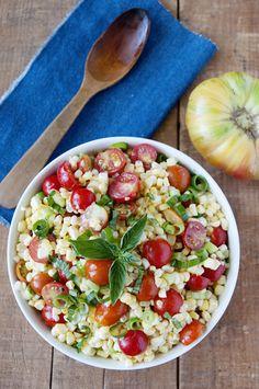 corn and tomato summer salad