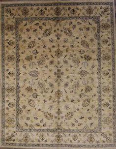 All-Over-Pattern-8x10-Oushak-Chobi-Pakistan-Oriental-Area-Rug-Wool-Carpet