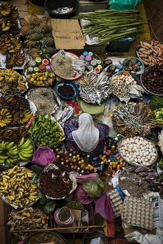 tapio-ca:  Malaysia Vegetable Market Photograph by  David Vilder