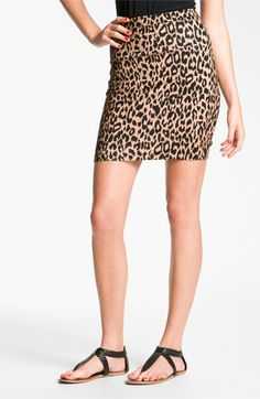 Cheetah Print Skirt ♥