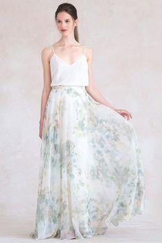 Jenny Yoo Hampton Print skirt in vintage floral