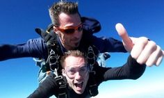Groupon - 12,000-Foot Skydiving Package for One or Two at Skydive Space Center  (Up to 67% Off)  in Titusville. Groupon deal price: $115