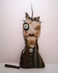 Handmade Plush Monster Monster Miniver by JunkerJane on Etsy,