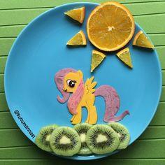 My Little Pony - Fluttershy by Anneysen;Butun Evlatlar Senin (@sunumannesi)