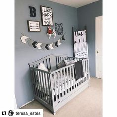 Love seeing nursery pictures with SugarBabies stuff!! This turned out so cute!! @teresa_estes  #shopsugarbabies #nursery #nurserydecor #babyroom