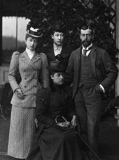 Princess Toria and siblings, including George V.