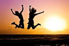 Jugend, Aktiv, Sprung, Glücklich