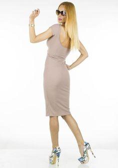 Rochie Dama Lora  Rochie dama extrem de senzuala, ce se muleaza frumos pe silueta. Ideala pentru sezonul cald.  Detaliu - spate gol.     Latime talie: 30cm, extensie 35cm  Lungime: 111cm  Compozitie: 100%Bumbac Dresses For Work, Fashion, Moda, Fashion Styles, Fashion Illustrations