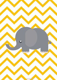 The elephant is the most emphasized feature of this poster. Cute Wallpaper Backgrounds, Cool Wallpaper, Pattern Wallpaper, Iphone Wallpaper, Baby Posters, Room Posters, Wallpapers Tumblr, Cute Wallpapers, Scrapbooking Image