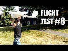 FlIGHT TEST #8 plus Progress Update