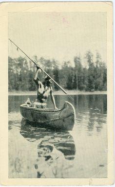 NATIVE AMERICAN The Ojibway Fisherman