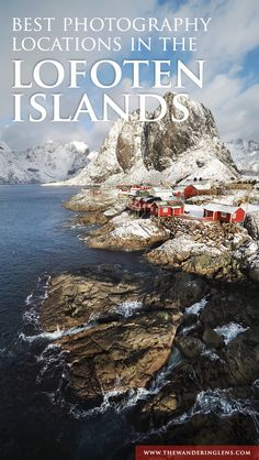 A guide to the best photo locations in the Lofoten Islands complete with a map and tips on where to stay and when to visit the Lofoten Islands. Best Island Vacation, Best Vacation Destinations, Best Vacations, Tonga, Jotunheimen National Park, Norway Travel Guide, Iceland Travel, Lofoten Islands Norway, Norway Fjords