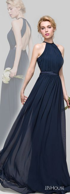 Ideas For Wedding Bridesmaids Blue Navy Style Grad Dresses, Trendy Dresses, Wedding Party Dresses, Blue Dresses, Fashion Dresses, Bridesmaid Dresses, Formal Dresses, Wedding Bridesmaids, Beautiful Dresses