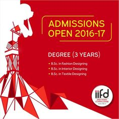 Admissions Open in IIFD.  Limited Seats Available. For #Admission_Process Call @+91-9041766699 OR Visit @ www.iifd.in/  #iifd #best #fashion #designing #institute #chandigarh #mohali #punjab #design #admission #india #fashioncourse  #himachal #InteriorDesigning #msc #creative #haryana #textiledesigning