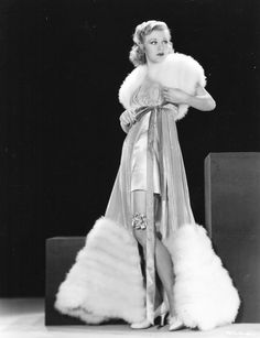 Ginger Rogers - just plain brilliant because, as they say, she can dance every step that Fred Astaire can, but backwards and in heels!