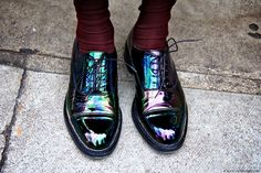 Funky Brogues.. If I had these they would make me smile all day :)