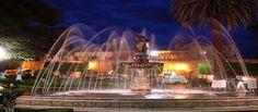 """MICHOACÁN MÁGICO JARDÍN VILLALONGÍN. Este jardín, disfrutó en otro tiempo de cuatro pequeñas fuentes en cada uno de sus ángulos por lo que la gente lo llamaba """"El jardín de los cuatro oros"""". Este romántico jardín se construyó con el propósito de tener una plaza y una pila con agua en abundancia para los habitantes de la zona. BEST WESTERN DON VASCO PATZCUARO http://www.bwposadadonvasco.com.mx/"""