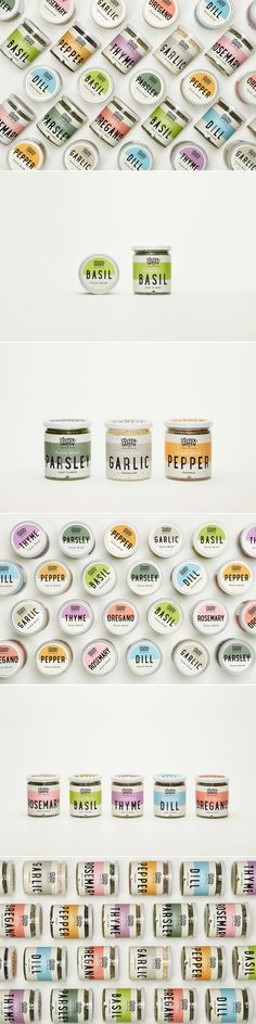 Spice Up Your Life With These Striking Freeze-Dried Spices — The Dieline | Packaging & Branding Design & Innovation News