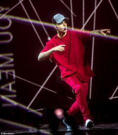 Back on stage: Justin Bieber has announced 58 dates for his Purpose World Tour, which will kick off on March 9 in Seattle and end at Madison Square Garden in July